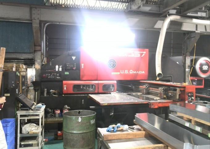 AMADA Used Turret Punch Press PEGA-357 - Mesena Co., Ltd.