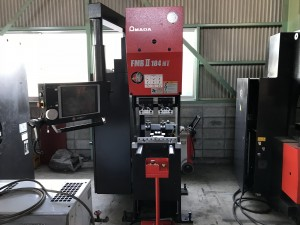 AMADA Used Servo Press brake FMBⅡ-184NT | Mesena Co , Ltd