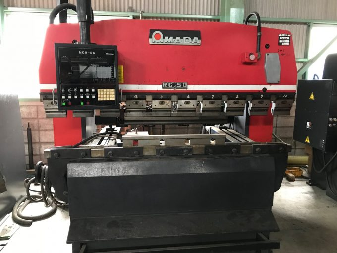 AMADA Used Machine 2 0mPress brake RG-50 NC9-EX
